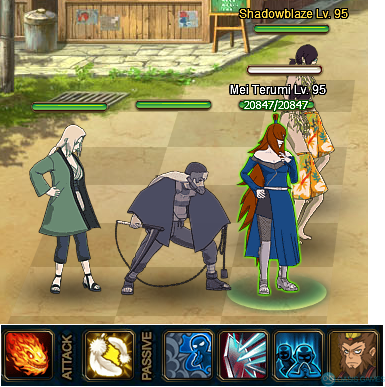 tsunade team for forum event