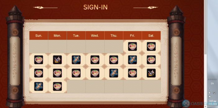 Daily Login 30 points for forum 1 part