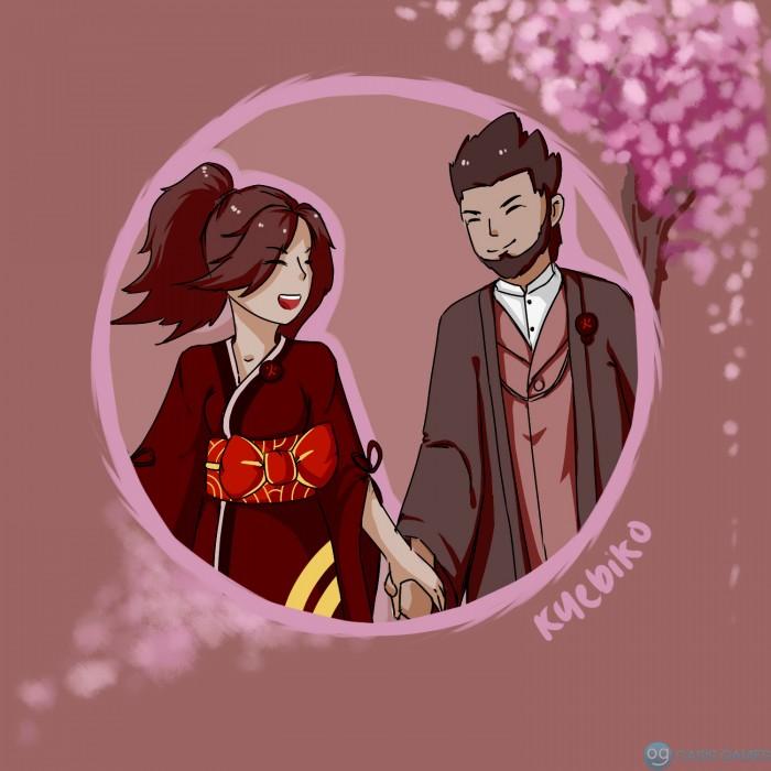 asukure kimono