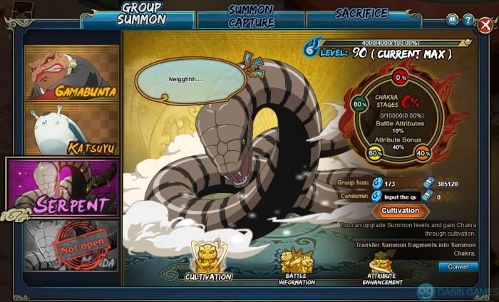 summon serp