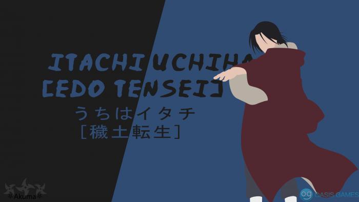 Itachi Uchiha [Edo Tensei] (Minimalist)_5