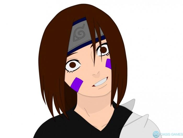 rin nohara crazy face