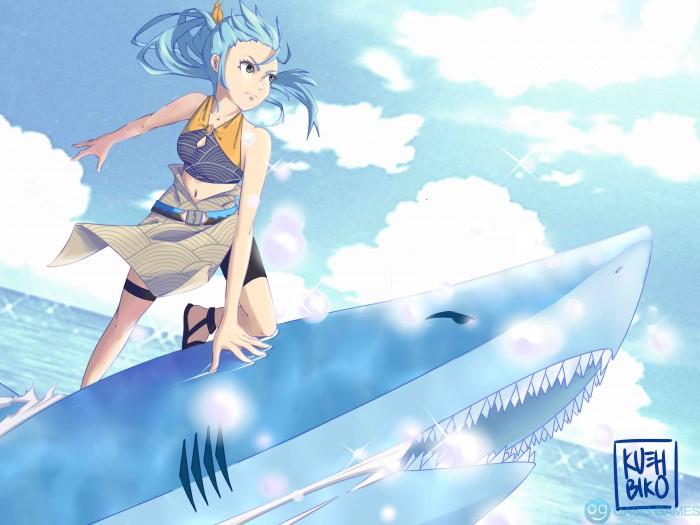 AF shark no lightning