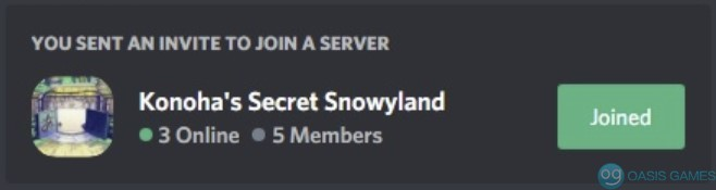 December 2020 Christmas Event-discord li<x>nk