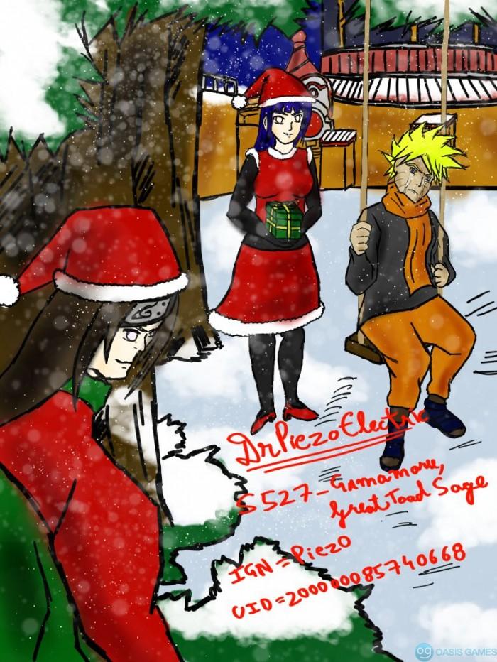 Naruto Christmas Event